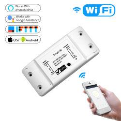 Interruptor de RF WiFi433 Smart Switch Tuya Smartlife App Control por parte del trabajo celular con Alexa, Google Portada
