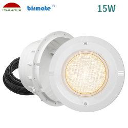 Les fabricants 15W UL Certification ABS IP68 PAR56 structurelles Piscine lumière LED étanche