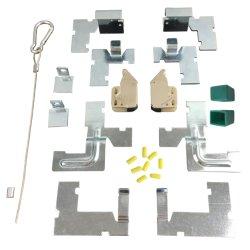 Set completo di accessori per pannello di accesso, incluso blocco a pressione angolare