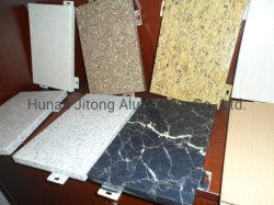 La decoración de interiores tallados en el panel de pared MDF chapa de aluminio