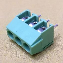5.0/5.08mm Conector 3contactos Tornillo Terminal OEM precio de fábrica de PCB