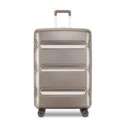 堅いシェルは続けていく3つのPCSのトロリースーツケースの高品質PPのトロリー荷物セット袋箱(XHPP005)を