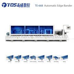 Borda automática máquina de bandas com corte transversal Dual-Rail
