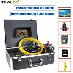 30m de cabo Endoscópio Industrial câmara Visor de 7 Polegadas do Sistema de Câmara de inspeção do tubo de esgotos