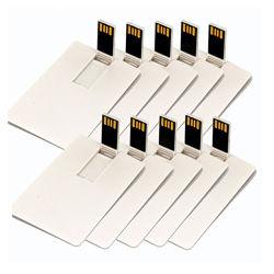 Tarjeta de crédito USB Flash Drive 8GB de disco de memoria USB 2.0