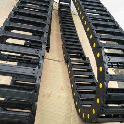 Fabricante de cable de alimentación de Viaje protección eléctrica de la cadena de arrastre, el Robot de cadena de arrastre, PA66 la cadena de arrastre, la cadena de arrastre de Máquina Herramienta, pasando la cadena de arrastre