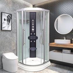シンプルなバスルームシャワー、筐体強化ガラスのシャワー、キャビンドアシャワー 客室