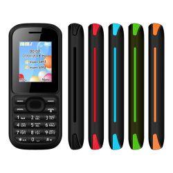 中国メーカー 1.77 インチスクリーンデュアル SIM GSM 2G セル 電話 GSM キーパッド携帯電話