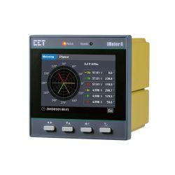 iMeter 6 DIN96 クラス 0.2S 三相パワー・クオリティ・アナライザ 電気 kWh エネルギーモニターメーターカラー LCD イーサネット用
