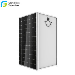 Mono Panel Fotovoltaico Monocristalino de 300W 350W 375W de Energía Solar de Alta Eficiencia