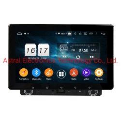 "8"" com sistema Android 9.0 Pie Double DIN DVD Universal para Automóvel Leitor multimédia com ecrã táctil Slidable 4GB de RAM Bluetooth DSP"