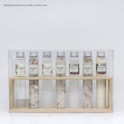 Bain de luxe et le corps Gift Set pour les hommes et femmes, salle de bain ensemble inclut 1 gel douche, 3 salle de bain cristaux, body scrub, 1 bain moussant et 1 salle de bain caviar