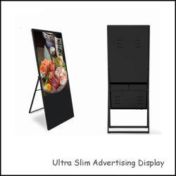 디지털 휴대용 포스터는 43 인치 토템 LCD 실내 디지털 Signage 접촉 스크린을 디스플레이한다