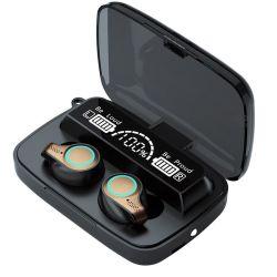 Écouteurs sans fil M18 BT TWS Touch casque hi-fi stéréo étanche écouteurs écouteurs de jeux de sport