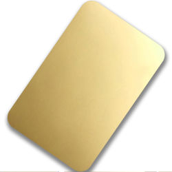Polissage miroir PVD finis revêtu d'or 1219x2438Classe 304 mm 0.3mm décoratives Plaques en acier inoxydable avec film PVC noir et blanc
