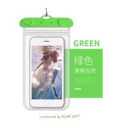 Прозрачный ПВХ TPU пластиковый водонепроницаемый чехол корпуса сотового телефона