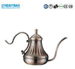 Heavybaoのステンレス鋼のコーヒー鍋は滴りにコーヒーやかんに注ぐ注ぐ