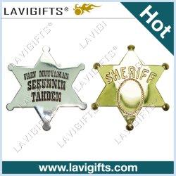 昇進の方法カスタムロゴ3Dの金属の折りえりPinの警察の軍の軍隊車の錫ボタンの昇進のギフトのための柔らかく堅いエナメルの名前の金のブランクの紋章のバッジ