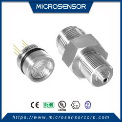 Gas montado Aire absoluto indicador hidráulico tanque de agua líquido piezoresistivo Sensor de presión OEM