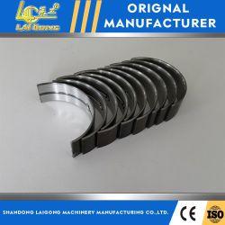 Auto partes de metal de apoyos del cigüeñal+Cojinete de biela+coincidentes de cuatro para el motor Sdlg/Luyu/Laigong