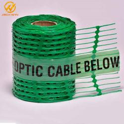 [300مّ100م] خضراء [فيبر وبتيك كبل] بوليبروبيلين بلاستيكيّة قابل للكشف إنذار شبكة مع [ستينلسّ ستيل وير] [ترسبل]
