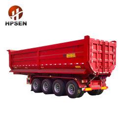 الصين [تريإكسل] 4 محور العجلة [أو] شكل 37 [كبم] 45 [كبم] شاحنة قلّابة [سمي] مقطورة لأنّ إفريقيا