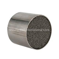 La Chine avec revêtement en métal de substrat Honeycomb Honeycomb catalyseur métallique pour les voitures/Moto fournisseur en gros
