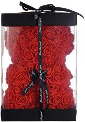 Comercio al por mayor 25/40/70cm Rose tiene con el corazón regalos Día de las madres tienen de rosas Rosa de Osos oso de peluche para San Valentín, boda, aniversario, Navidad
