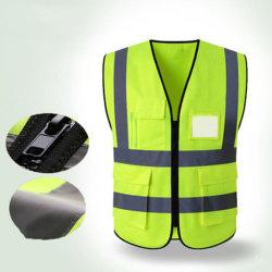 Vestiti da lavoro riflettenti fluorescenti di sicurezza stradale per le situazioni scure
