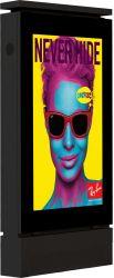 75polegadas de Chão LCD Vertical exibe publicidade Exibir Totem PiscinaDigital Signage Tela com SO Android