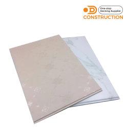 내부용 방수 PVC 우드 플라스틱 벽 천장 패널 보드 장식적인 장식
