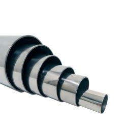 Suministro de la fábrica de acero inoxidable (redonda, cuadrada, rectangular, perfilada) tubo)