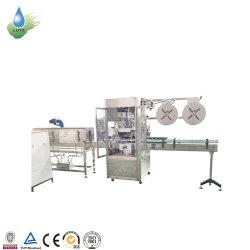 Étiquette de manchon rétractable PVC machine/l'étiquetage automatique de machines pour les bouteilles en verre à l'étiquetage de la machinerie de la courroie du convoyeur