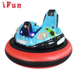 Cojín de aire coche PARAGOLPES PARAGOLPES inflables de la batería que funciona con monedas con el coche de disparo láser interactivo juego para la familia