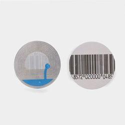 RF EAS de códigos de barras magnéticas de la etiqueta suave 8.2MHz Stricker etiquetas