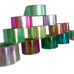 Grau alimentício Rainbow Confeitaria material de embalagem PET Candy Filme de torção