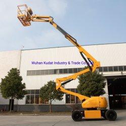 16m hydraulische hijsapparatuur mobiele scharnierende giek met zelfrijdende antenne Werkplatform