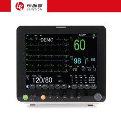 Monitor paziente medico multiparametro Pm12f da 12.1 pollici prodotti in plastica utilizzati per la diagnosi di monitoraggio chirurgico in ospedale.