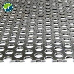 Ampliamente utilizado/Panel de metal perforado Hoja de Metal perforado/Aluminio Metal perforado fabricado en China