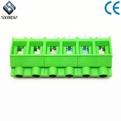 Зеленый 9,5 мм винт крепления кабеля типа клеммной колодке проводной разъем