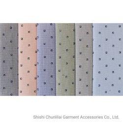 Textile imprimé Tc/CVC de filés de polyester à 60% 20% coton 20 % tricot chaîne en rayonne de litière/vêtement/tissu/Robe/chemise