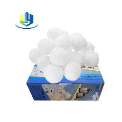 Ácido e alcalino Indústria Resistência interior da esfera de poliéster fibra do filtro da bomba de areia de filtração de Água de Piscinas