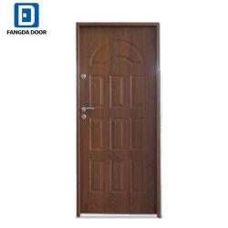 [تك] خشبيّة مصمّم مدخل أمن فولاذ معدن حديد مدخل [إإكستريور دوور]