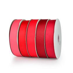 La fábrica de la producción de alta calidad de la cinta Grosgrain cinta de terciopelo, cinta de organza, que se utiliza para Invitación de boda, el producto envasado, las prendas de vestir