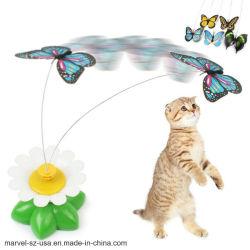 قطّ كهربائيّة فراشة عصافير عبث حيوان بلاستيكيّة مضحكة محبوب قطّ يدرّب لعب