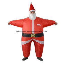 팽창식 크리스마스 복장 성숙한 산타클로스 한 벌 참신