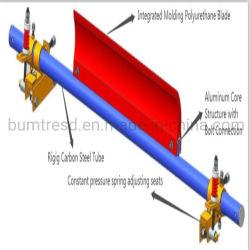 650mm -2200mm ancho ajustable Bel la minería del carbón de poliuretano resistente cinta transportadora cinta transportadora de prefiltros de limpiador de sistema de limpieza