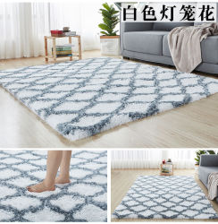 La cravate de la teinture de somptueux tapis doux pour la salle de séjour chambre Tapis de sol anti-dérapant Chambre Tapis Tapis d'absorption de l'eau