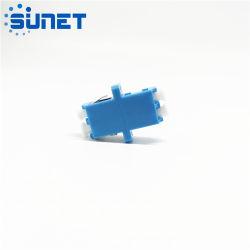 China-Zubehör-blauer Faser Optik-LC-weiblicher Verbinder Singlemode Kern-Adapter LC-Upc 4