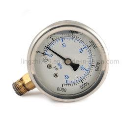 40 мм с жидкостями в нижней части установите щуп для измерения давления